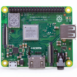 Мини-компьютер Raspberry Pi 3 Model A+ Plus