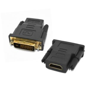 Адаптер HDMI (female) - DVI (male)